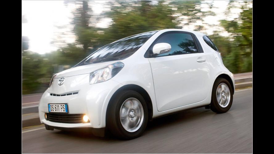 Autos, die weniger als 100 Gramm CO2 pro Kilometer emittieren