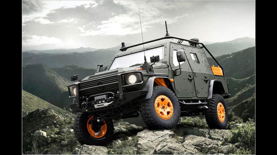 Mercedes fürs Grobe: Gepanzerte Konzepte fürs Militär