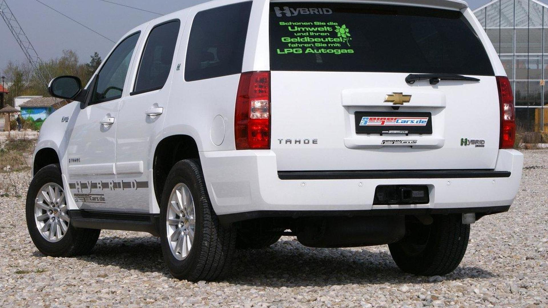 Chevrolet Tahoe Hybrid Tri Mode By Geigercars