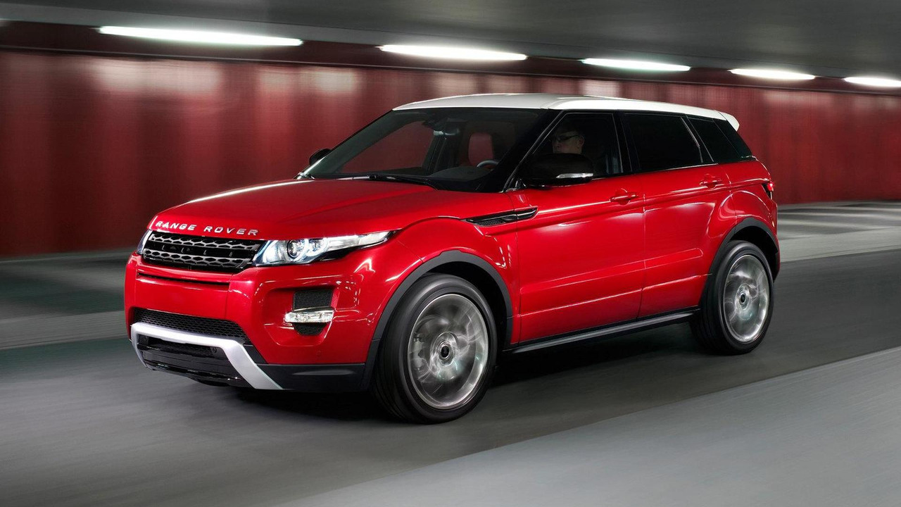 range rover evoque pricing announced uk germany. Black Bedroom Furniture Sets. Home Design Ideas