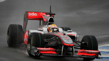 Lewis Hamilton (GBR), McLaren Mercedes, MP4-25, 12.02.2010, Jerez, Spain