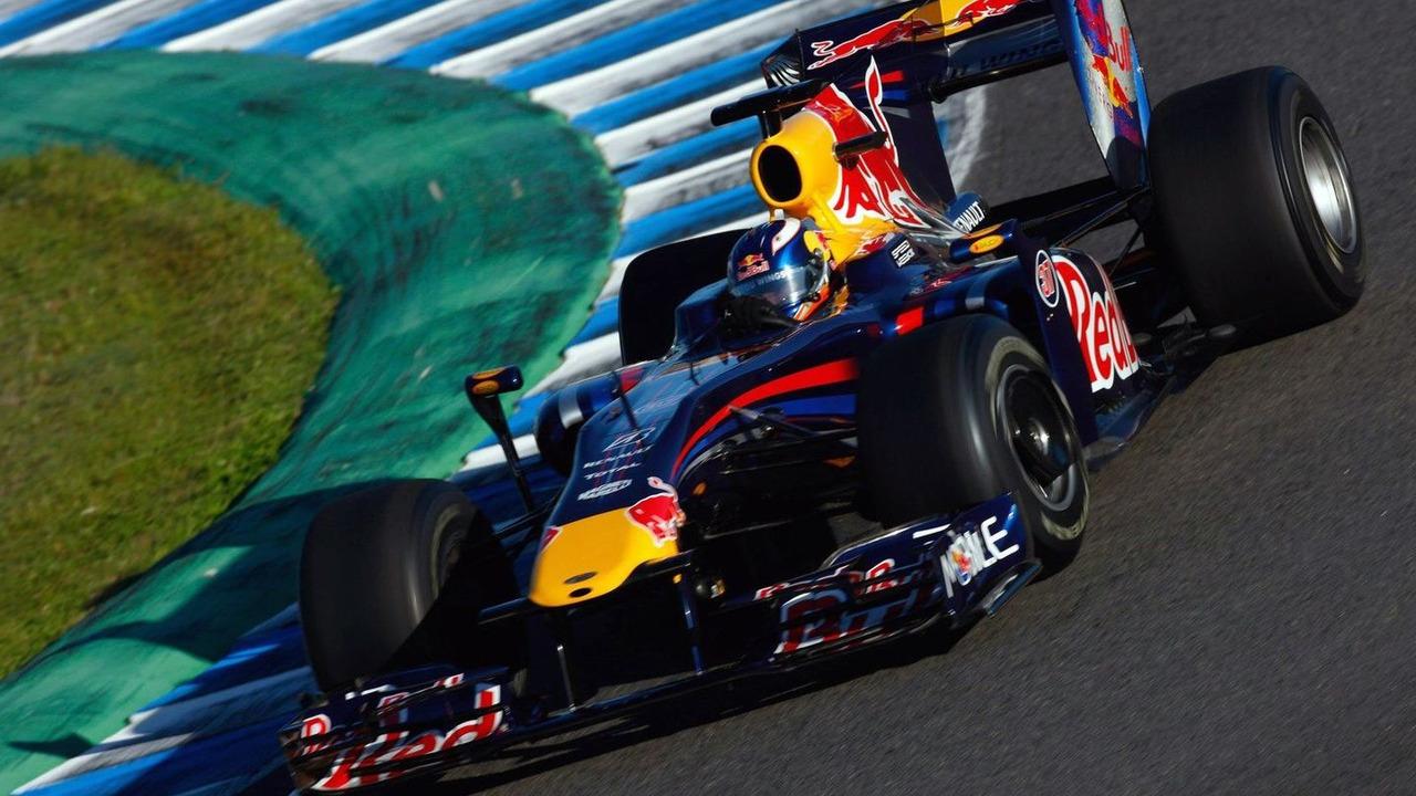 Daniel Ricciardo (AUS), Tests for Red Bull Racing, 03.12.2009 Jerez, Spain,
