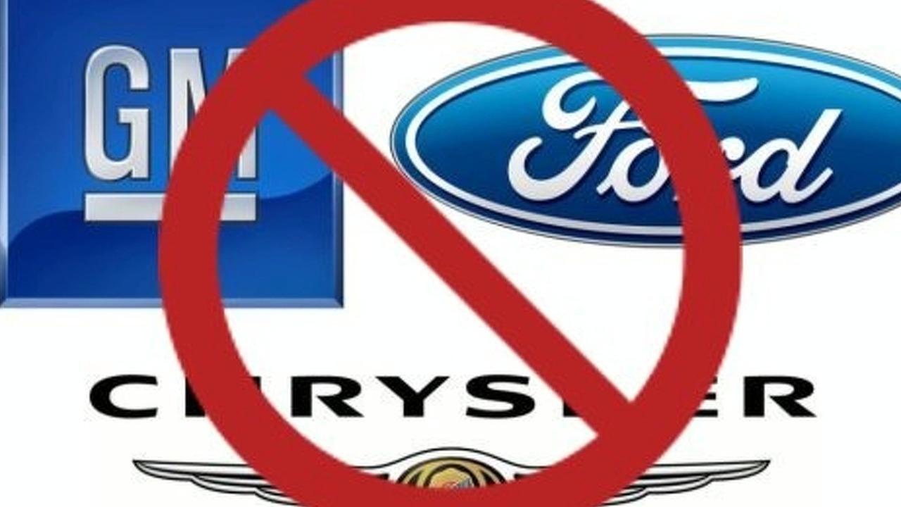 Big 3 logos prohibited