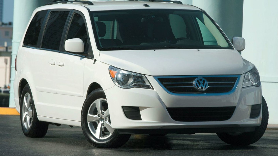 Volkswagen says Routan production will resume next summer