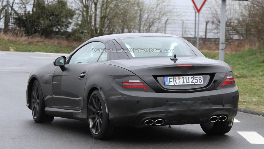 2012 Mercedes SLK63 AMG spy photos - 31.3.2011