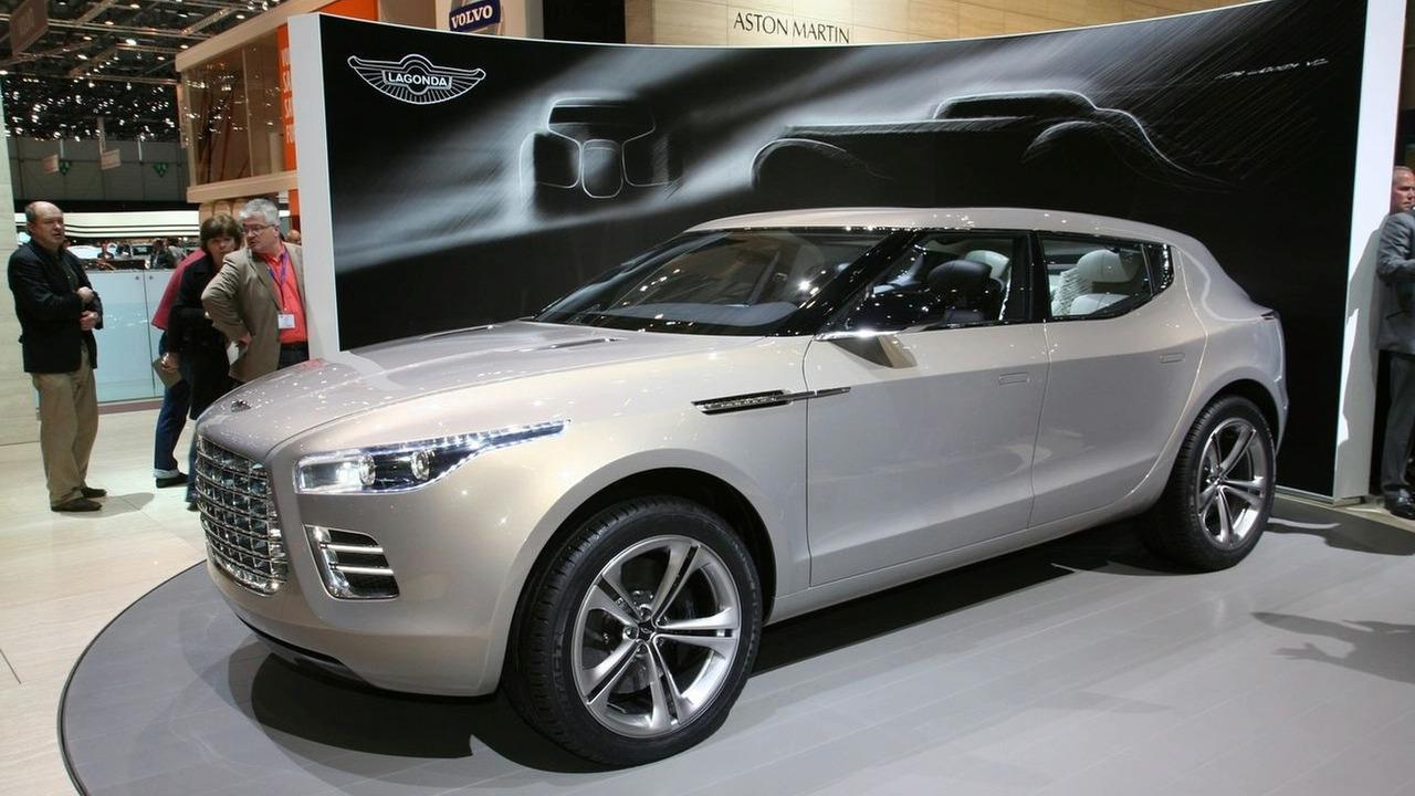 Aston Martin Lagonda Concept at Geneva