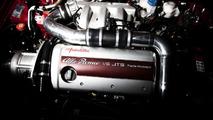 Alfa Romeo 3.2 V6 JTS engine supercharged by Autodelta