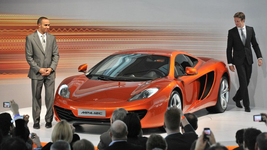 McLaren MP4-12C world public debut at Goodwood announced