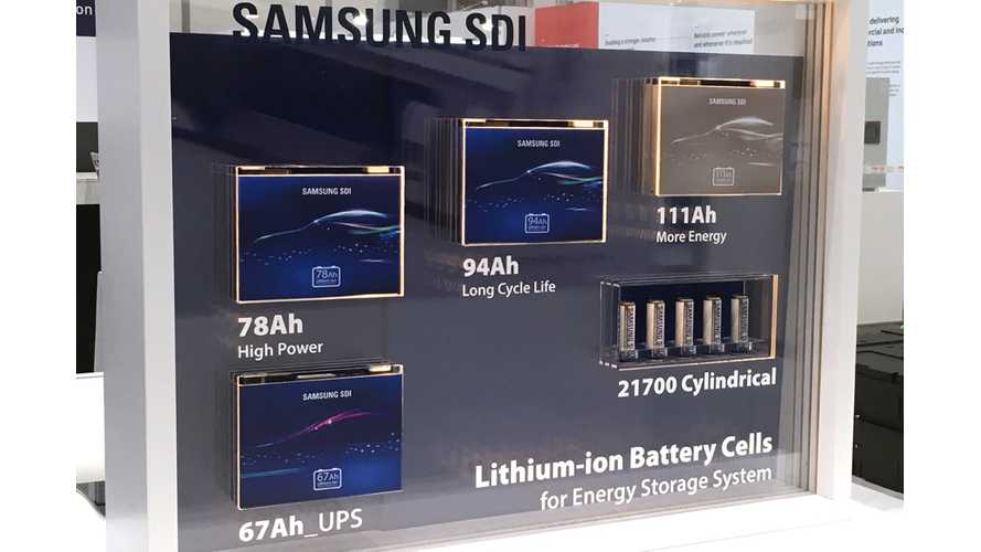 BMW i3 Samsung SDI 94 Ah Battery Rated For 524,000 Miles