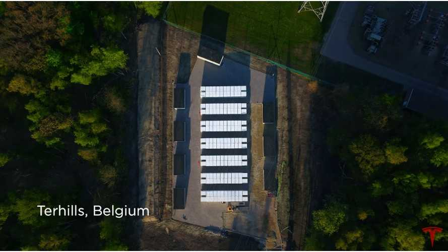 See How Tesla Powerpacks Help Balance Grid In Belgium