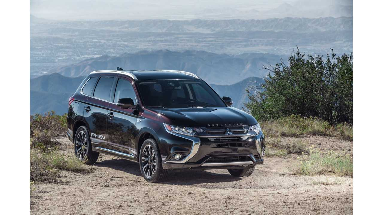 Mitsubishi Outlander PHEV Expected To Lead Brand's U.S. Sales Charge In 2018