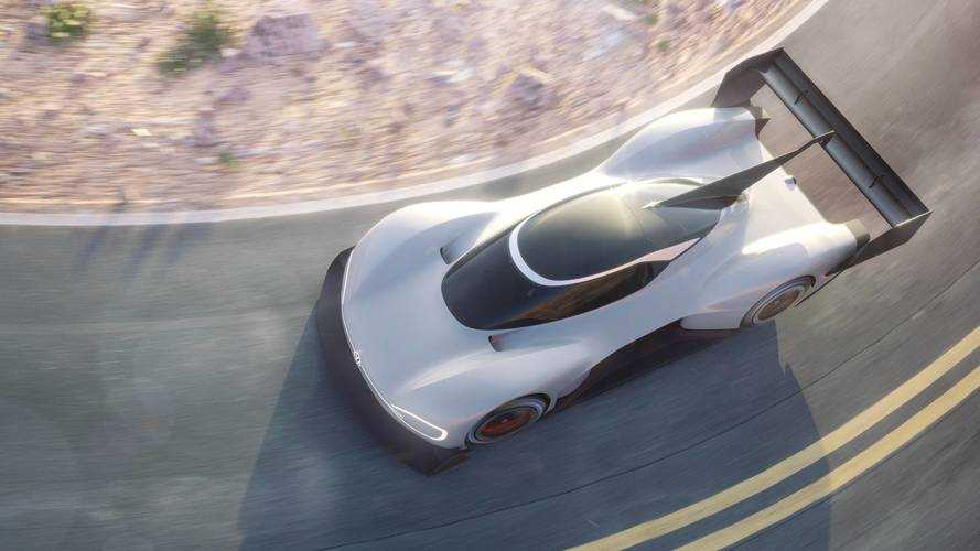 Volkswagen Reveals New I.D. R Electric Pikes Peak Racer
