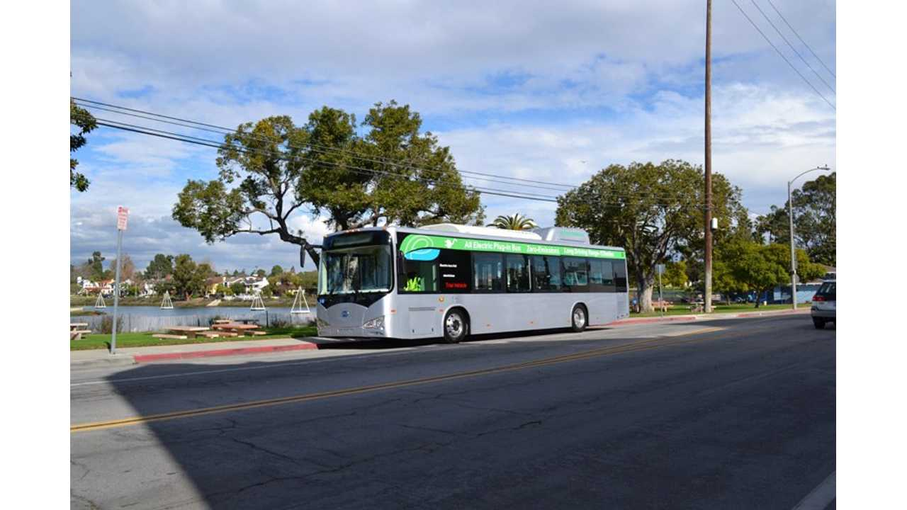 With Federal Grant Issue Solved, Long Beach Transit Re-Orders 10 Electric Buses From BYD