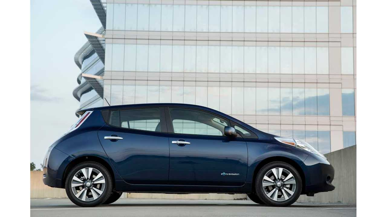 2016 nissan leaf 107 miles epa range full specs pricing. Black Bedroom Furniture Sets. Home Design Ideas