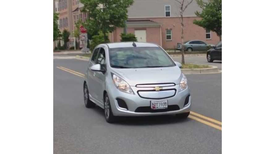 Chevrolet Spark EV In Maryland - Video
