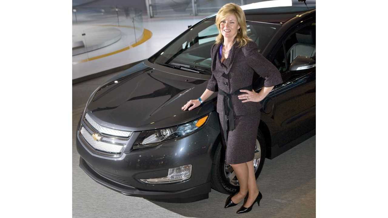 Q & A With Pam Fletcher: Executive Chief Engineer For Chevrolet Volt