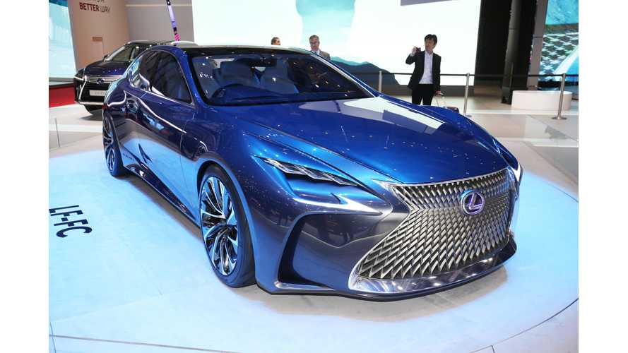 Lexus LF-FC At The 2016 Geneva Motor Show (Photos, Videos)