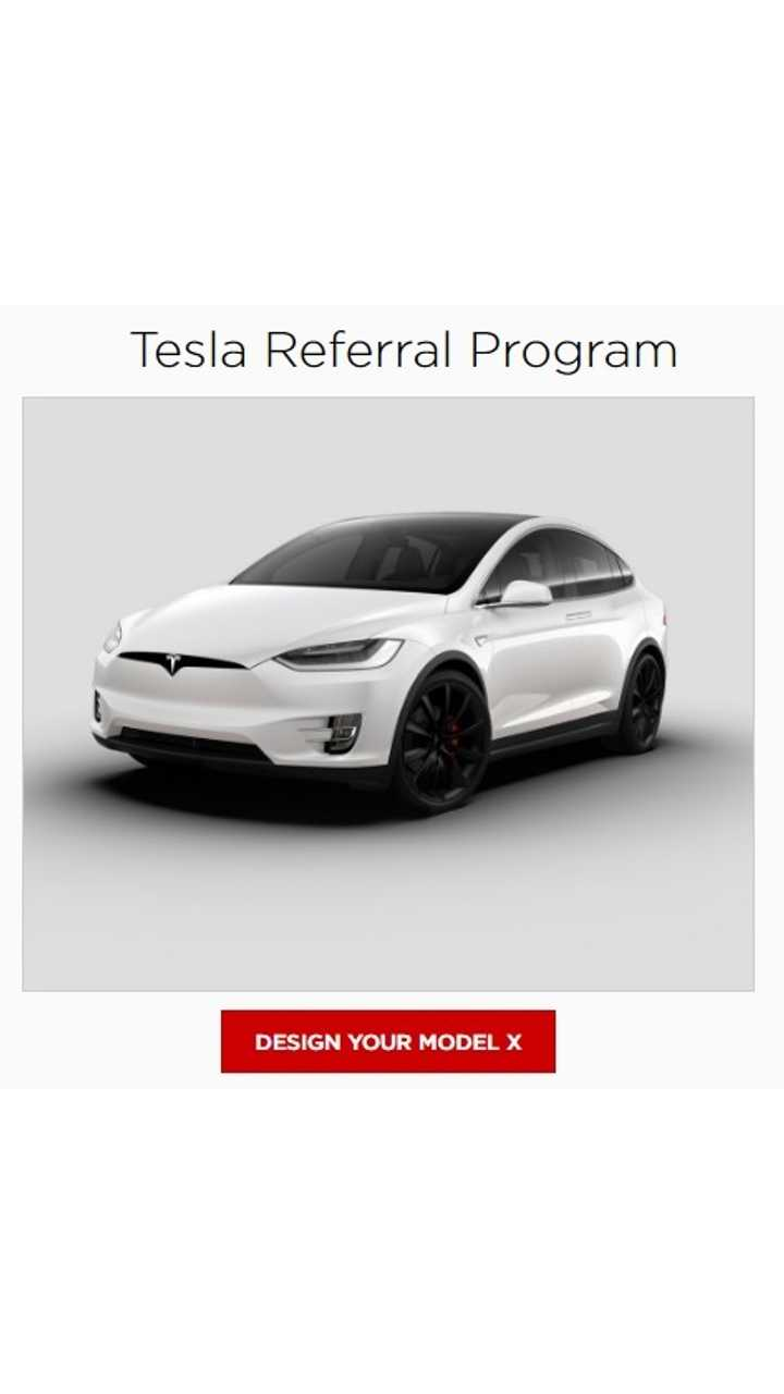 Tesla Launches New Referral Program - Model S Or X P100DL Among Prizes