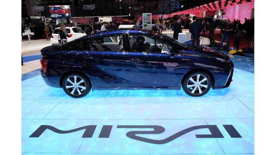 European Sales Of Toyota Mirai To Begin This September