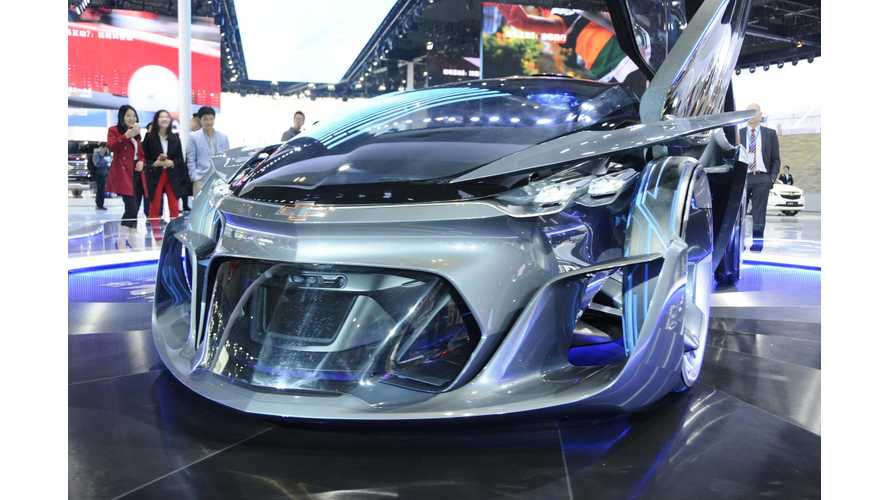 Chevrolet FNR Concept Unveiled At 2015 Shanghai Motor Show - Images