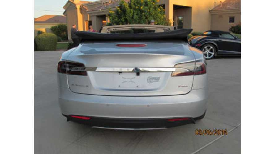$135,000 Tesla Model S Convertible For Sale
