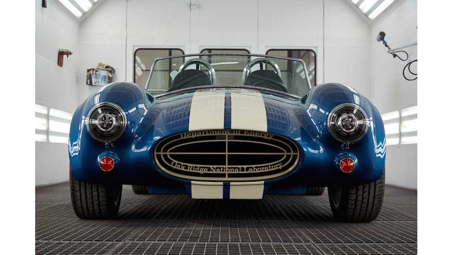 Wallpaper Wednesday: Electric Shelby Cobra