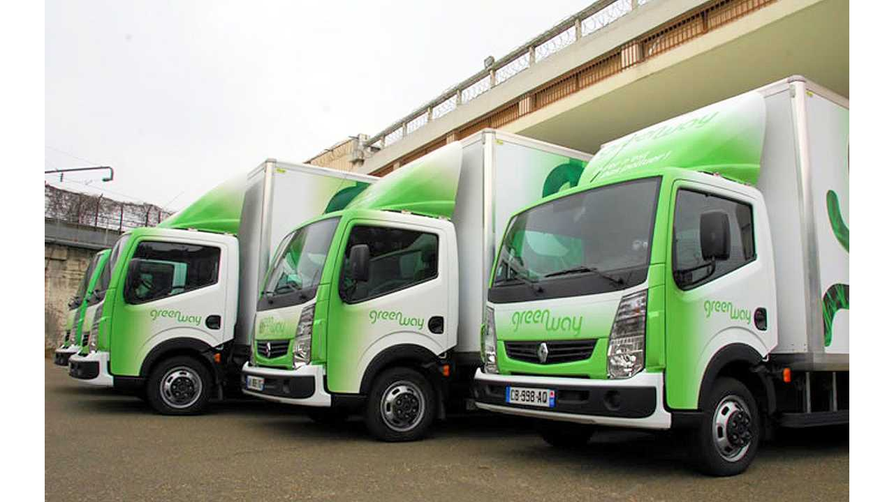 Greenway Services Presents Success Story Of Using Renault Maxity Electric Trucks