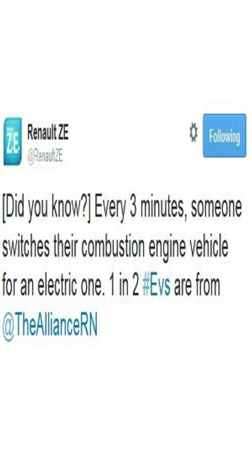 Did You Know? Every 3 Minutes Someone Switches From An ICE Vehicle To An Electric Car
