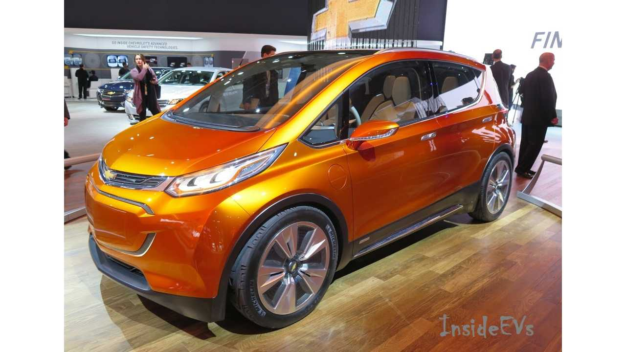 The Chevrolet Bolt Will Go Into Production In October of 2016 According To Sources