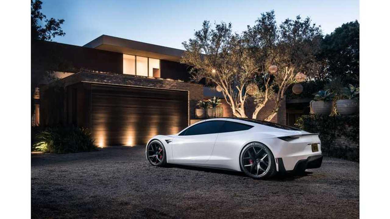 Tesla Roadster Delights Us In New Images: Wallpaper + Video