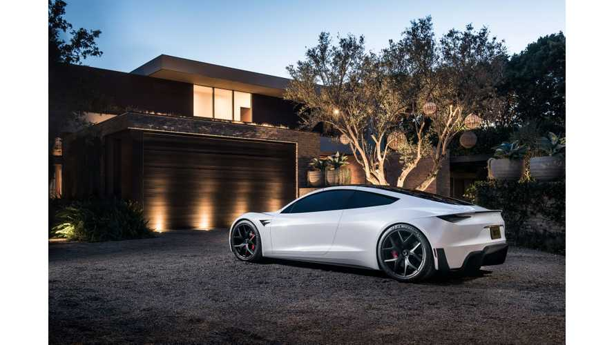 Tesla Roadster Delights Us In New Images: Wallpaper + Video