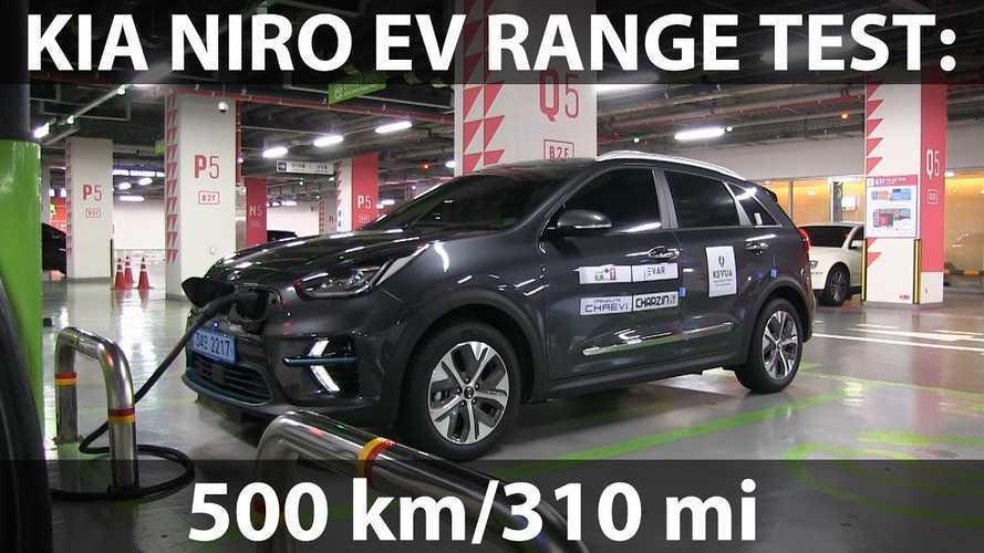 Bjorn Drives Kia Niro EV 310 Miles On A Charge