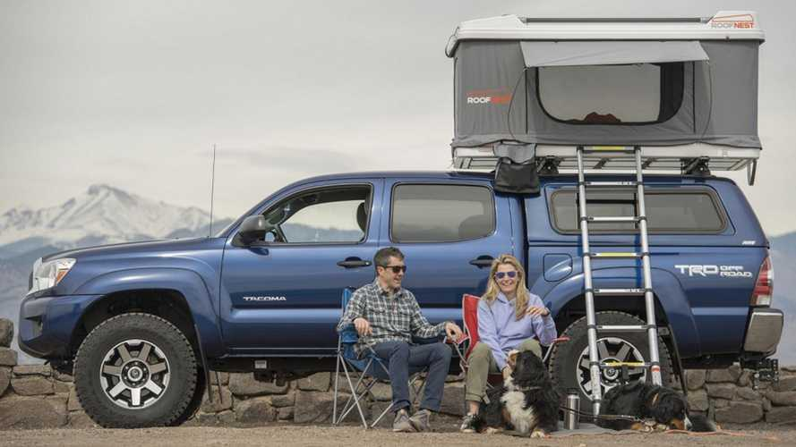 Turn Any Car Into A Camper With This Pop-Up Roof Tent