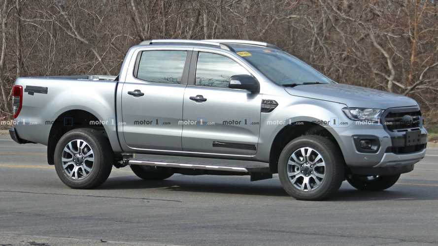Possible Ford Ranger Diesel Spied In The United States