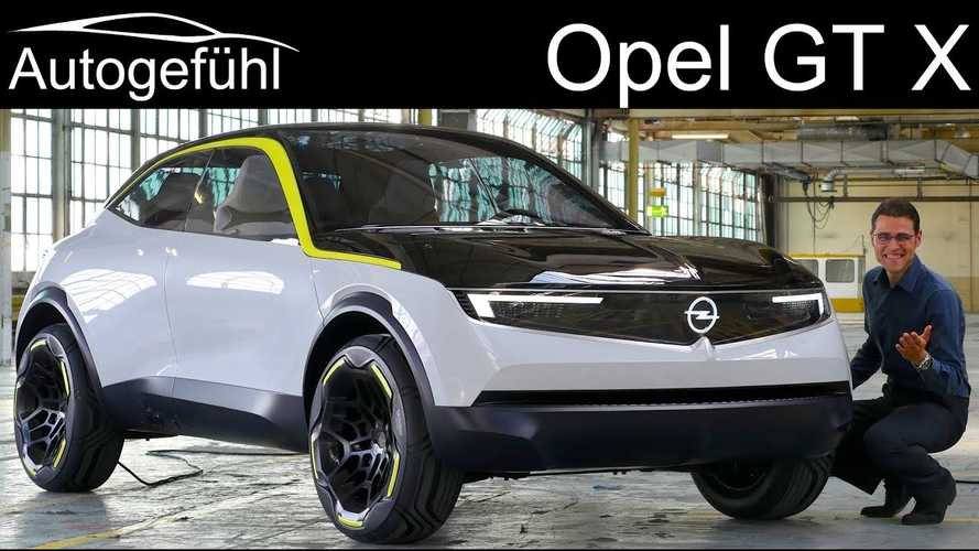 Opel GT X Experimental Electric Concept Previews Next-Gen Models