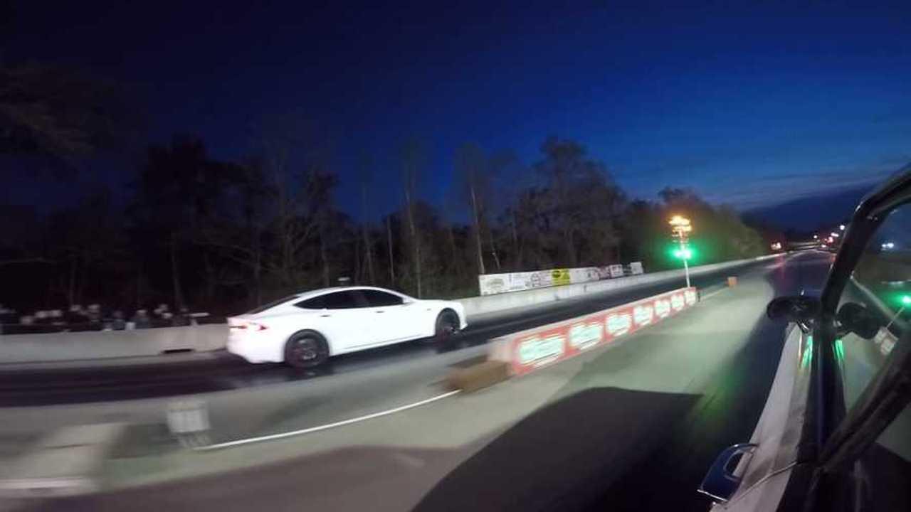 Tesla Model S P100D Races To Move Up Top Ten List
