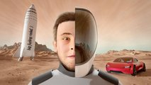 This 3D CGI Animated Tesla / Elon Musk Video Is The Bees Knees