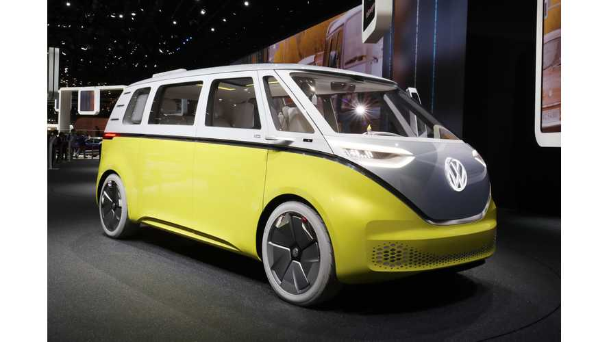 Volkswagen To Get New Logo To Usher In Electric-Car Era