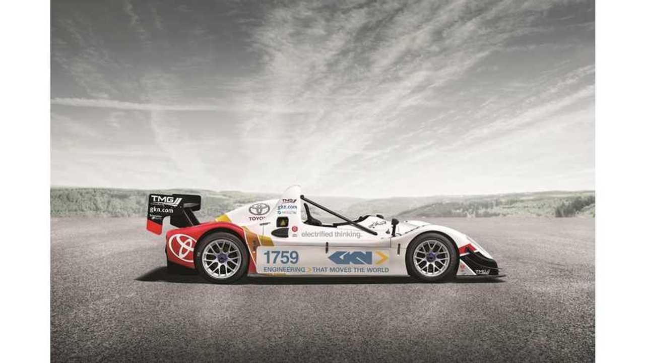 GKN Brings 2012 Electric Pikes Peak Winner To Festival Of Speed