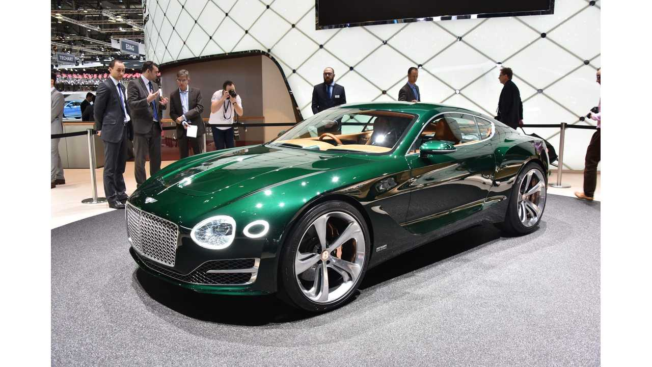 Bentley Confirms 2020 Launch Of 500-HP Electric Coupe