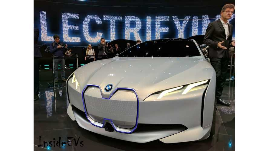 BMW i Vision Dynamics Is 4 Series Gran Coupe's Electric Sibling