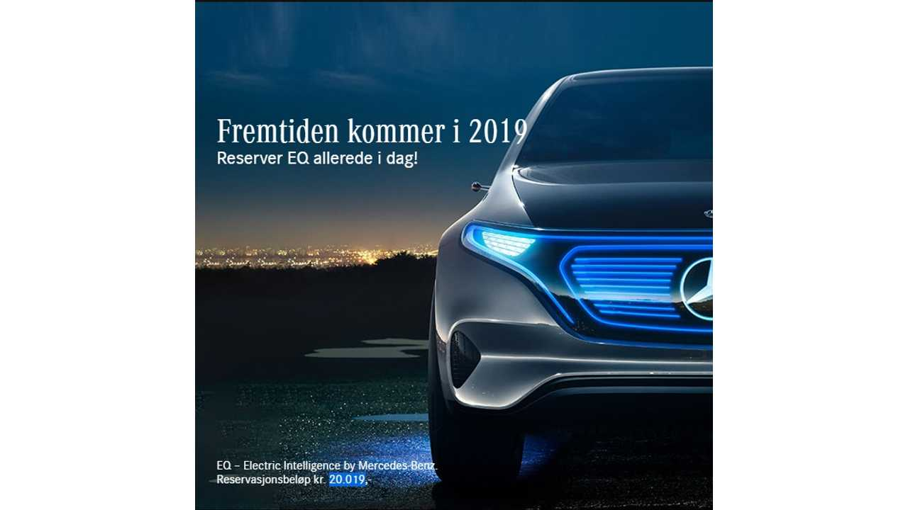 Mercedes Opens Reservations For Its 300 Mile All-Electric EQ Compact SUV