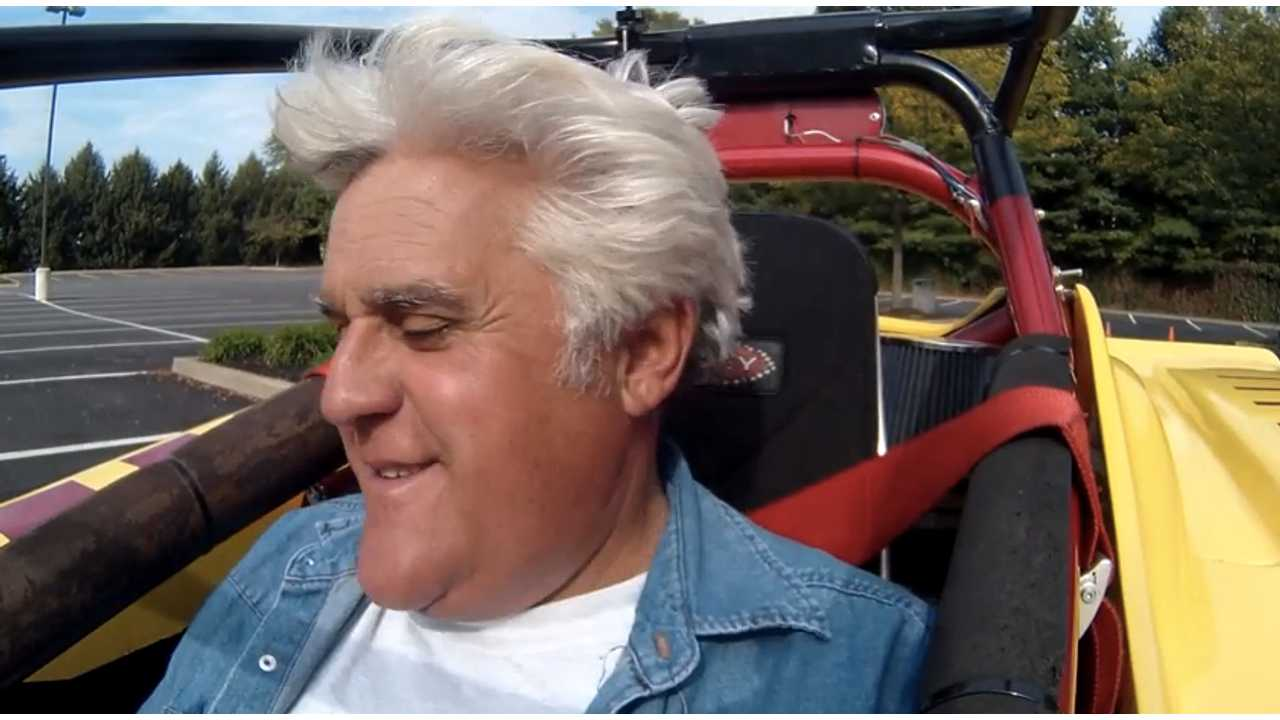 Jay Leno Drives EVSR (w/video)