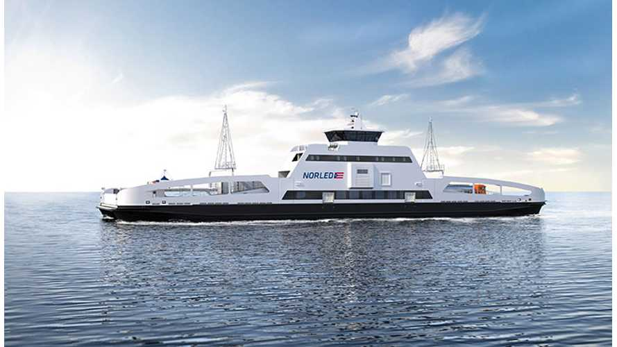 All Electric Ferry Wins Ship Of The Year Award