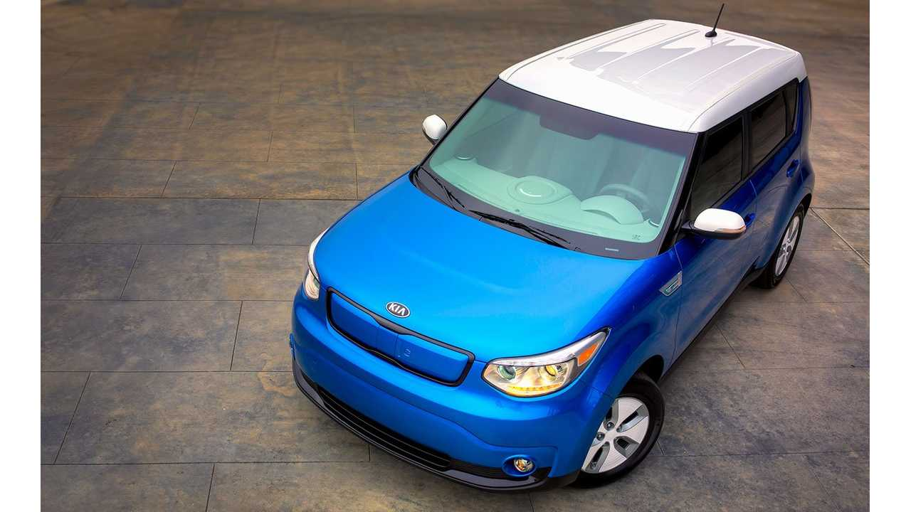 2015 Kia Soul EV Gets Official EPA Range Rating Of 93 Miles - City Range Will Blow Your Mind
