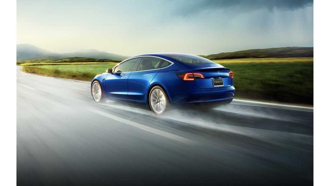 Tesla Model 3 Production Hits Estimated 100,000 Units