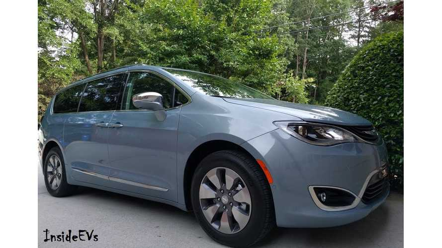Chrysler Pacifica Hybrid: A Week With The 33 Mile Plug-In Minivan