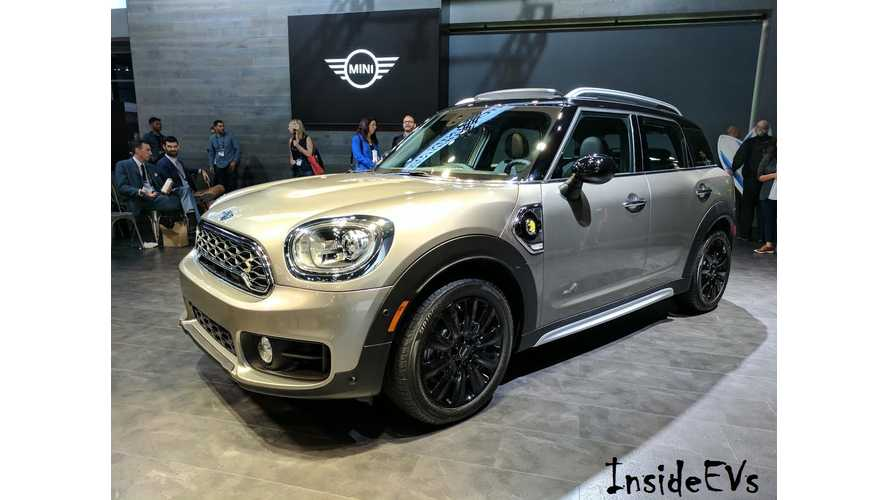 Video Recap Of The MINI Cooper S E Countryman ALL4 Global Debut From The LA Auto Show
