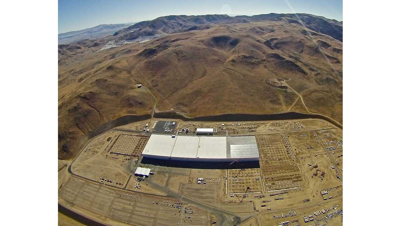 New Aerial Photos Show Expansion Underway At Tesla Gigafactory