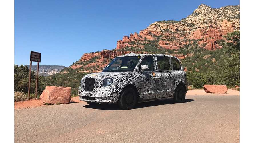 New TX5 Electric Taxi Survives Arizona Desert Heat Intact (with Video)